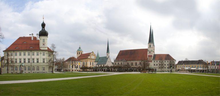 Kapellplatz, Alttting, Wallfahrtsort