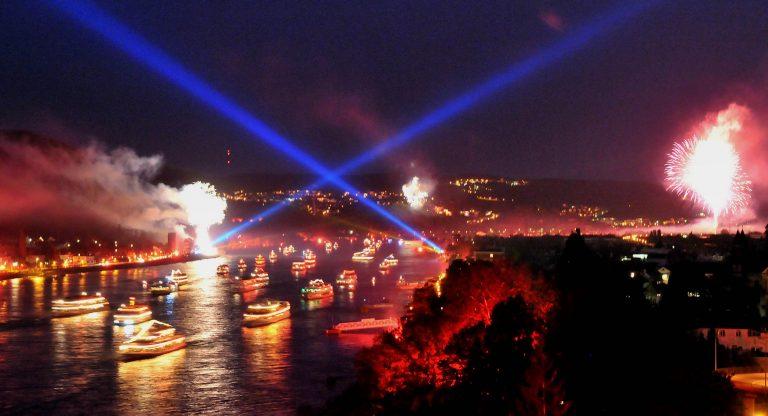 Remagen Rhein in Flammen